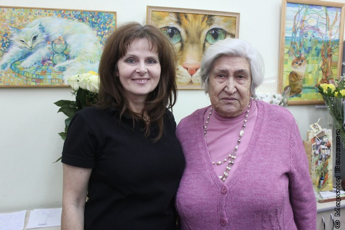 Ирина Георгиевна Мехоношина и Зоя Степановна Шаталина