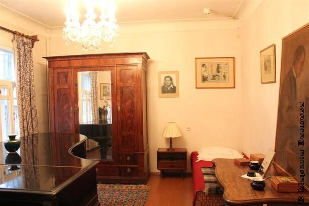 Комната Зинаиды Николаевны Пастернак (Нейгауз)