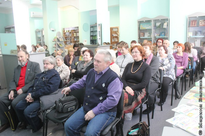 Презентация в Маяковке