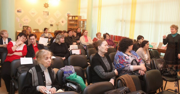 Семинар в библиотеке № 10 им. Л.Преображенской