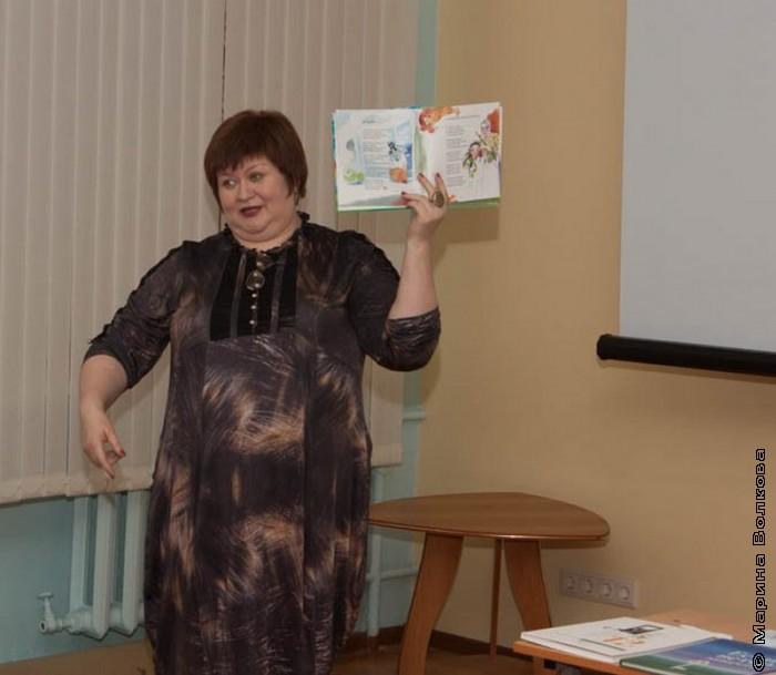 Елена Сыч на литературном воскреснике