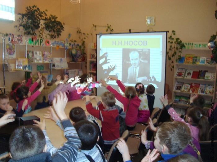День чтения вслух в 1-ой детской библиотеке Челябинска
