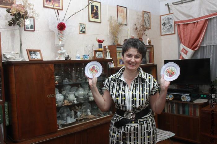Ирина Аргутина дома