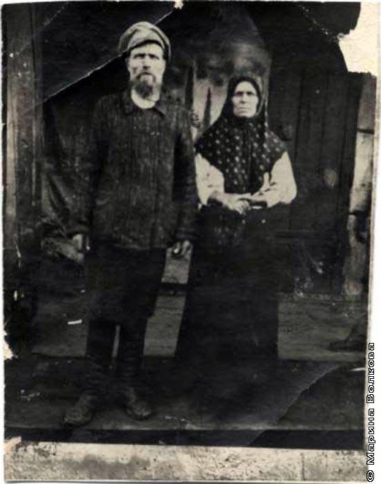 Баландины Алексей Иванович и Екатерина Ивановна