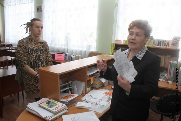 заведующая библиотекой  Любимкина Анна Алексеевна