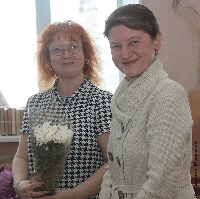 Марина Юрина и Юлия Демченко
