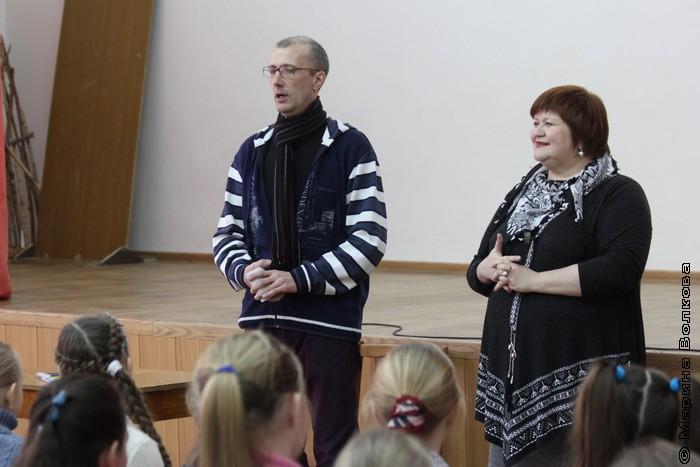 Янис Грантс и  Елена Сыч