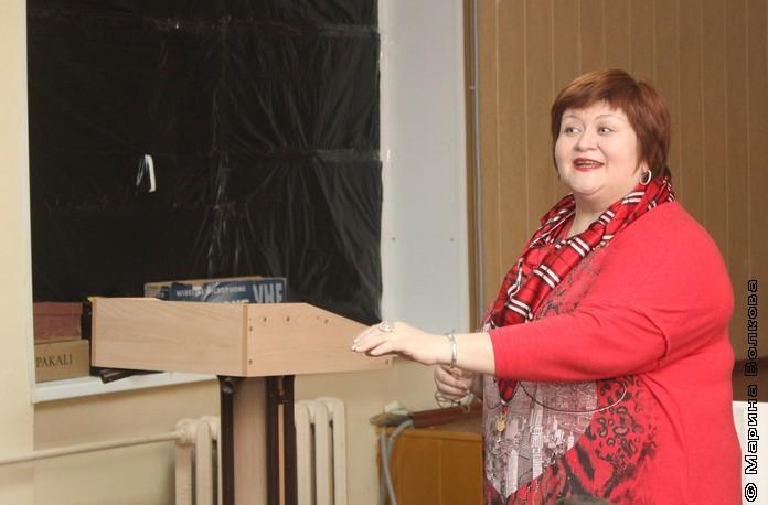 Елена Сыч в 74-ой школе
