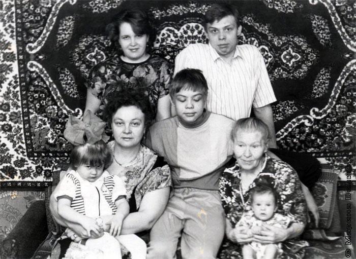 Семья Гордеевых