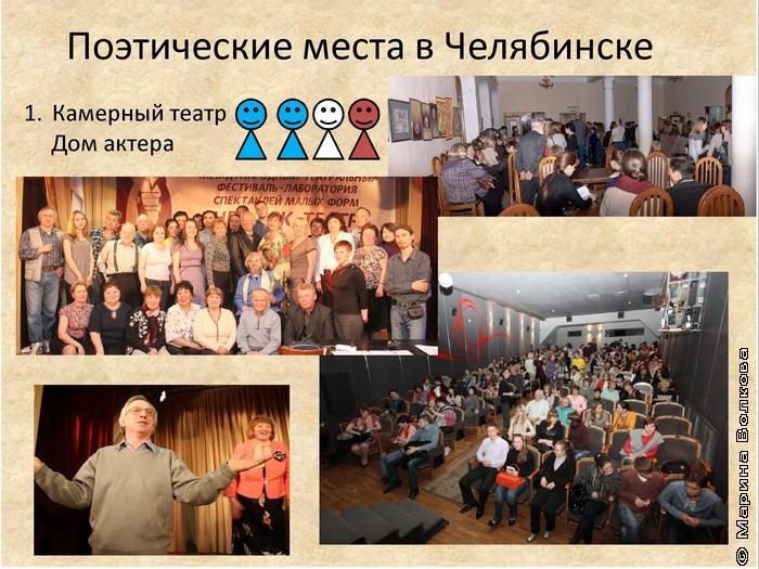 Поэтические места в Челябинске
