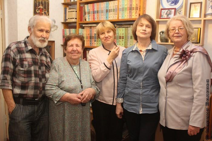 Заглянули в гости к Надежде Анатольевне Капитоновой,