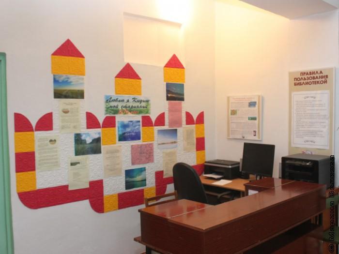 Библиотека села Кидыш