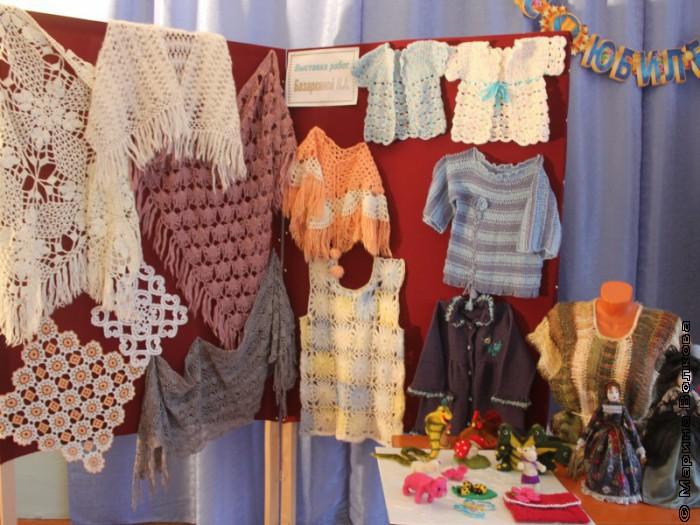 Выставка в сельском доме культуры