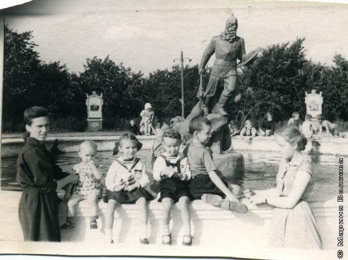 Колбины. Алое поле, 1958