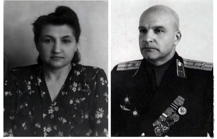 Александра Семеновна Сидельников и Яков Александрович