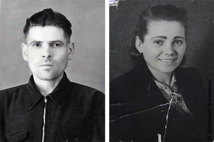 Никандр Ефимович Лебедев и Евдокия Степановна