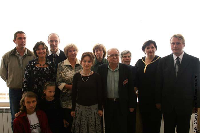Участники проекта Живые лики истории