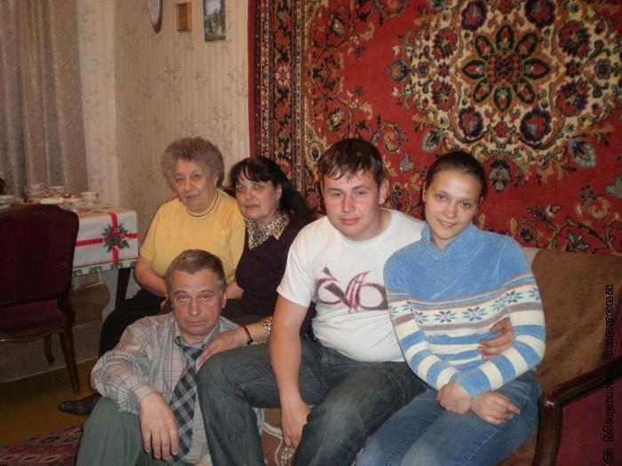 Семья Остроущенко