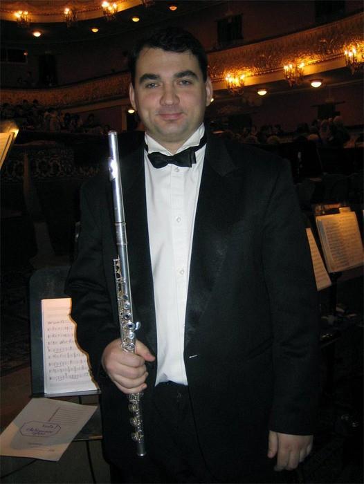 Петр Лебедев в оперном театре