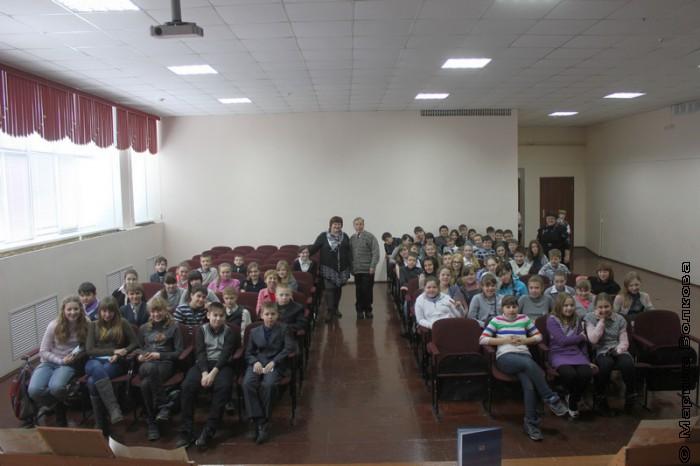 После читательского марафона с Еленой Сыч и Юрием Брызгаловым