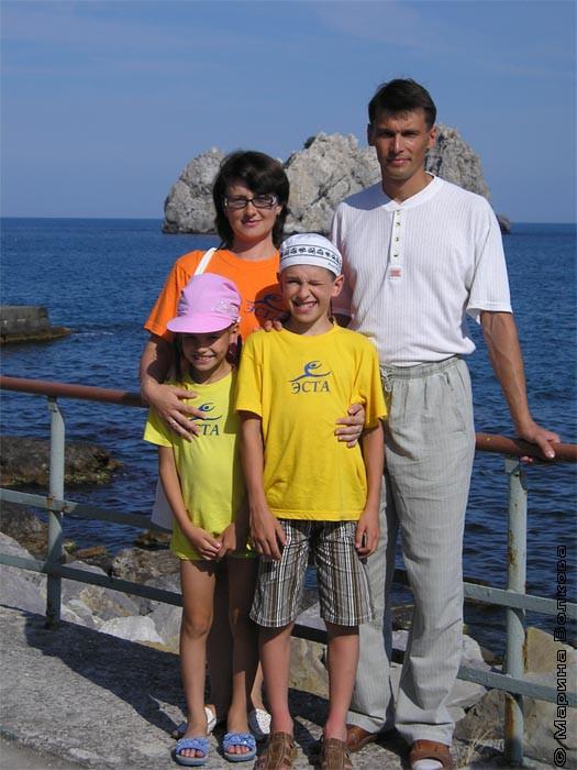 Шлапаковы. Папа, мама, брат и я- вместе дружная семья!