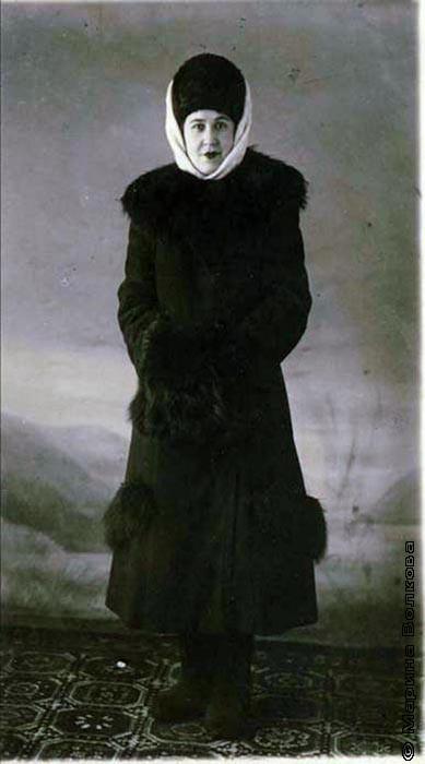 Мария Степановна Воробьева (Баран)