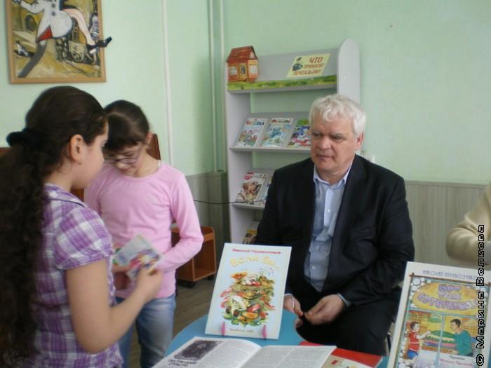 «Волшебный чемоданчик» в Центральной детской библиотеке имени А.М. Горького