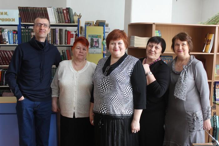Янис Грантс, Алевтина Горбушина, Елена Сыч, Татьяна Александрова и Ольга Лукина