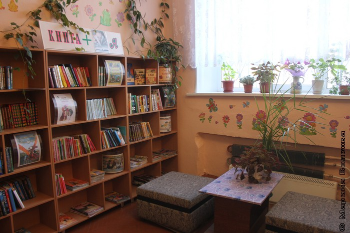 Библиотека поселка Бажово