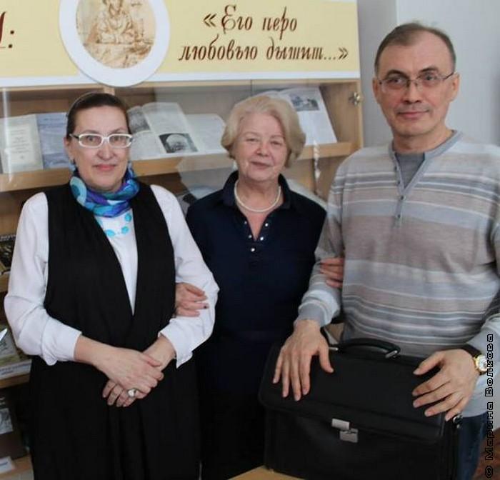 Марина Волкова, Наталья Шмидт и Виталий Кальпиди