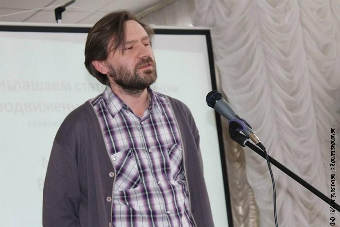 Александр Самойлов, поэт, культуртрегер,  организатор поэтических вечеров в Библиоглобусе