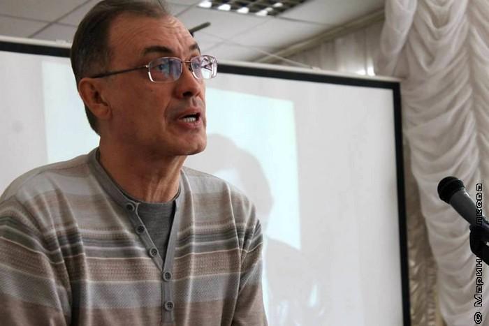 Виталий Кальпиди, поэт, культуртрегер, автор проекта и составитель книг серии  ГУЛ