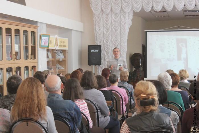 Виталий Кальпиди на презентации проекта ГУЛ
