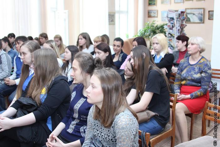 Встреча в библиотеке  №22 им. Мамина-Сибиряка