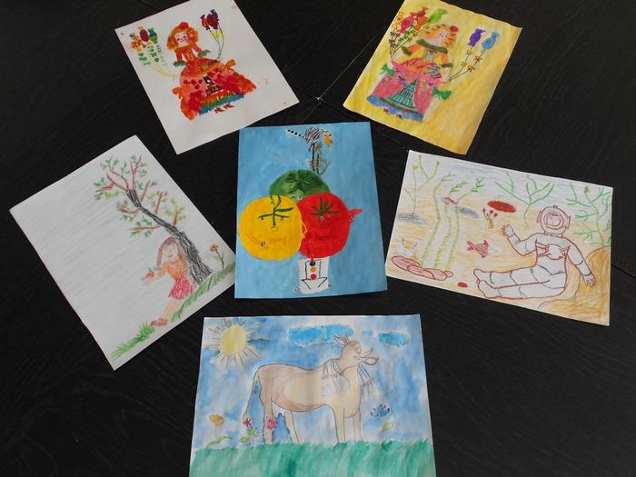 Рисунки по книгам уральских писателей