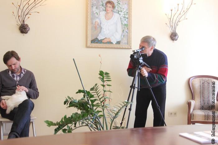 Литературный салон у Марины Волковой