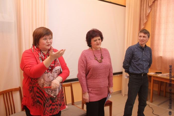 Елена Сыч, Елена Раннева и Михаил Придворов