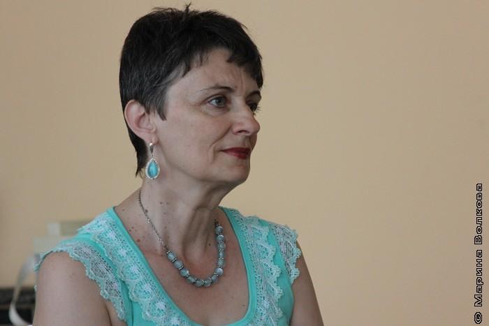 """Ирина Аргутина, поэт, редактор журнала """"45-я параллель"""""""