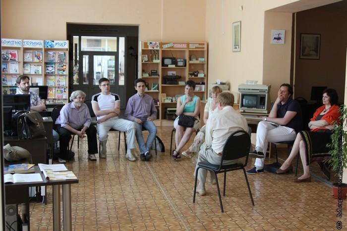 Встреча с Л.П.Быковым