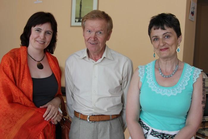 Ольга Вахитова, Леонид Быков и Ирина Аргутина