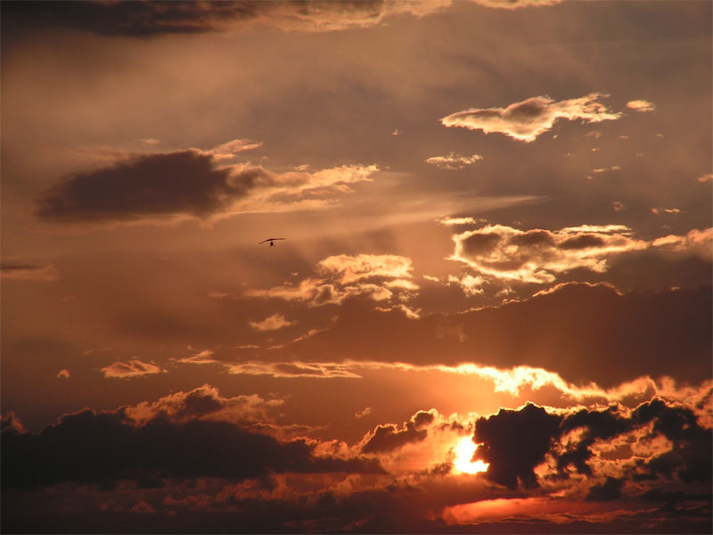 я люблю небо