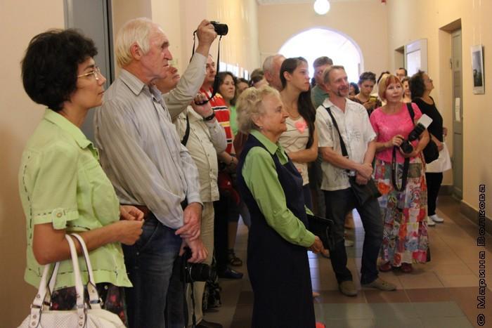 Открытие выставки Владимира Боже