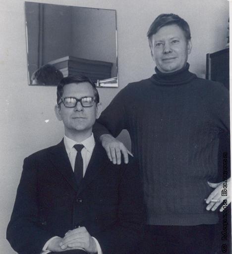 Аркадий Борченко и Юрий Подкортытов