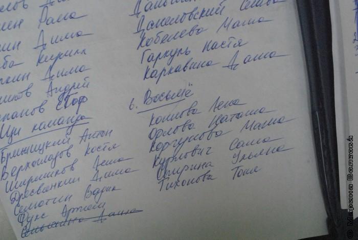 Маша добавила букву команде «Восьм»