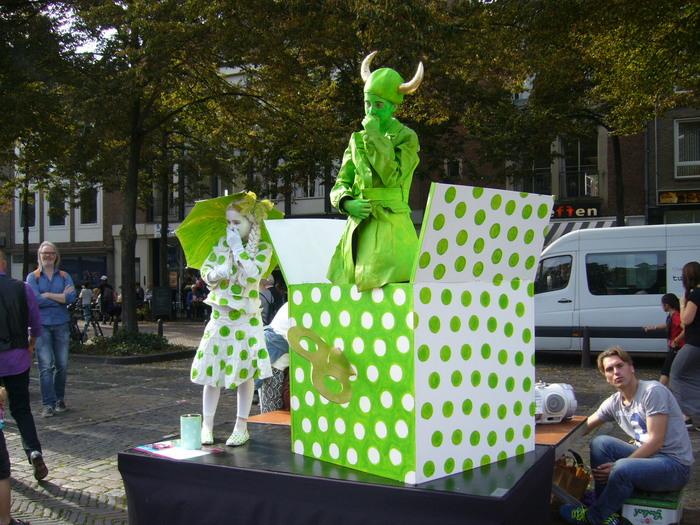 Фестиваль живых скульптур в Арнеме