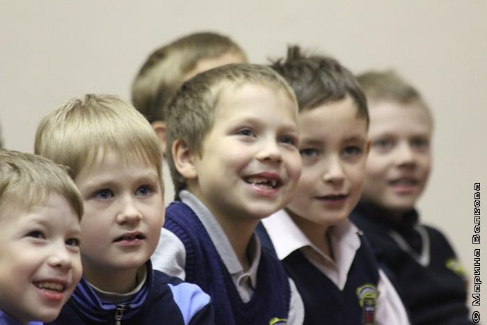 в школе № 167 Екатеринбурга