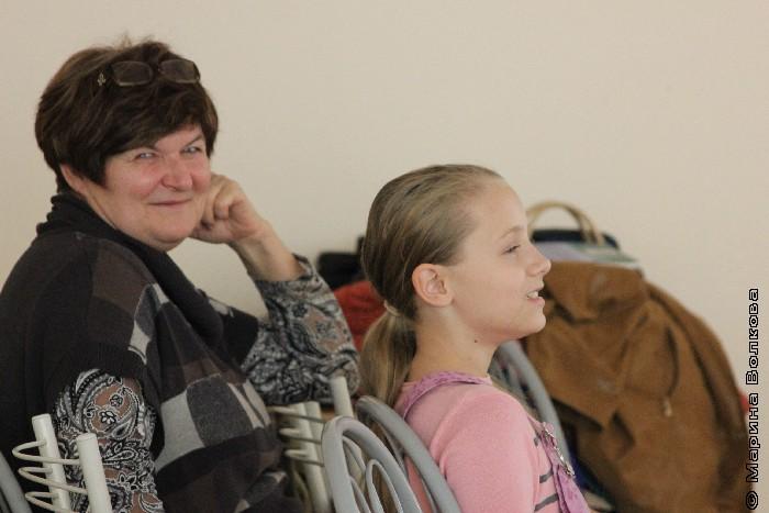 Валентина Тарасенко с внучкой Катей