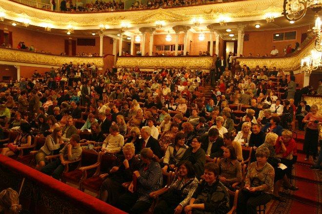 Музыкально-театральное открытие Года Литературы