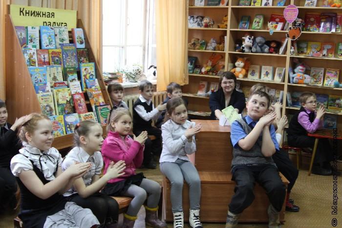 Читательский марафон в библиотеке имени Куликова