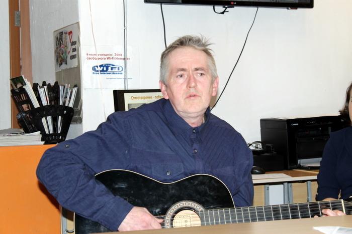 Встреча с поэтом. Сергей Дегтярёв